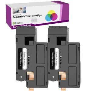 4 525W Toner Cartridge Black Color For Dell Laser E525W E525DW 525 E525 Printer